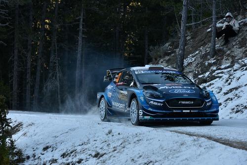 WRC19, Monte-Carlo. Roba da Chiodi, Ogier (Citroen) in Testa (6)