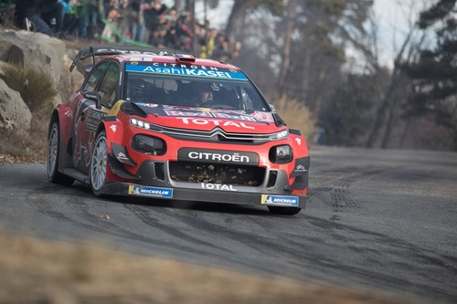 WRC19, Monte-Carlo: Ogier (Citroen) un Mostro