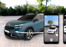 Citroën lancia il 1° configuratore a realtà aumentata su Messenger