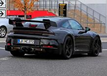 Porsche 992 GT3, ancora aspirata e con il manuale [Video]