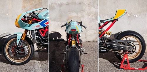 Ducati Monster 821 Pantah: una café racer pensata per le prestazioni (9)
