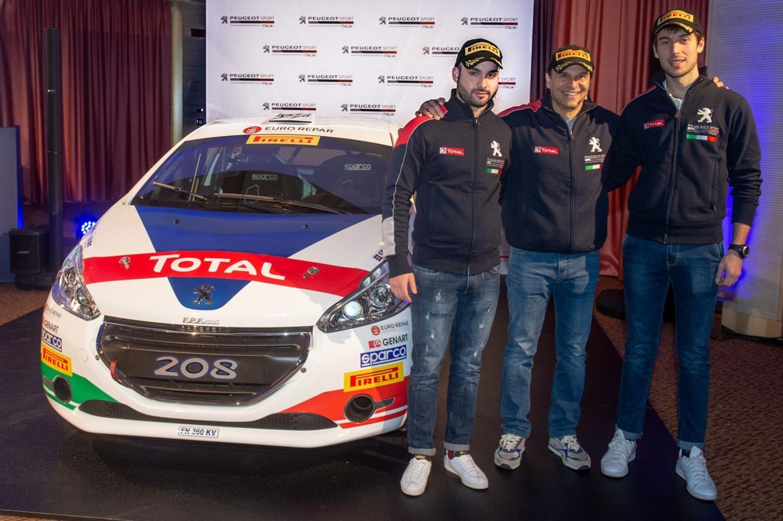 Rally, Trofei Peugeot Italia: 40 anni sempre in corsa con nuovi talenti e vecchi campioni