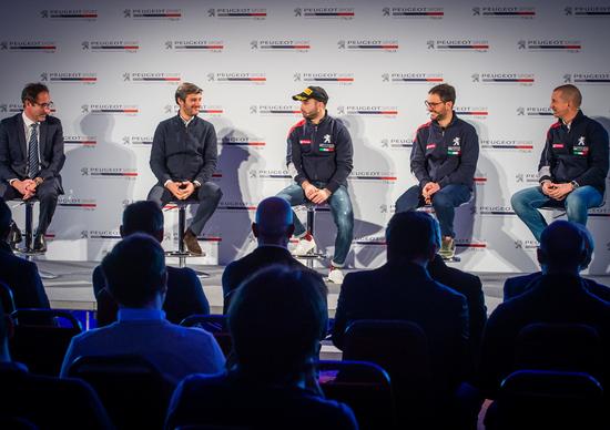 La presentazione del programma Rally Peugeot Italia 2019