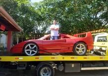 Costruisce replica F40: Ferrari lo denuncia