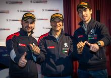 Peugeot Sport, Campionato Italiano Rally: passaggio di testimone Ucci Ciuffi