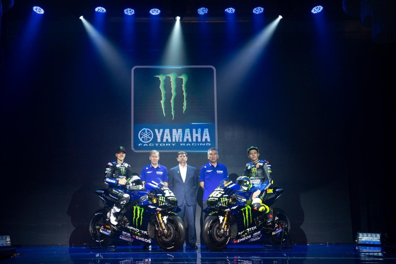 MotoGP. Yamaha svela la livrea 2019 di Rossi e Viñales