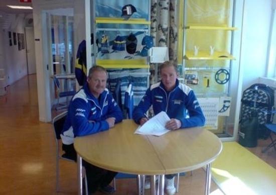 Joakim Ljunggren rinnova il contratto con la Husaberg