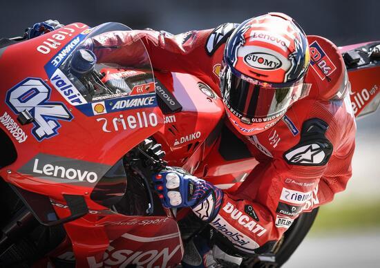 MotoGP test. Dovizioso: Il telaio nuovo è tutto da verificare