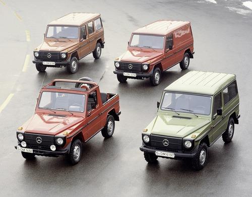 Mercedes-Benz: buon 40° compleanno, Classe G! (6)