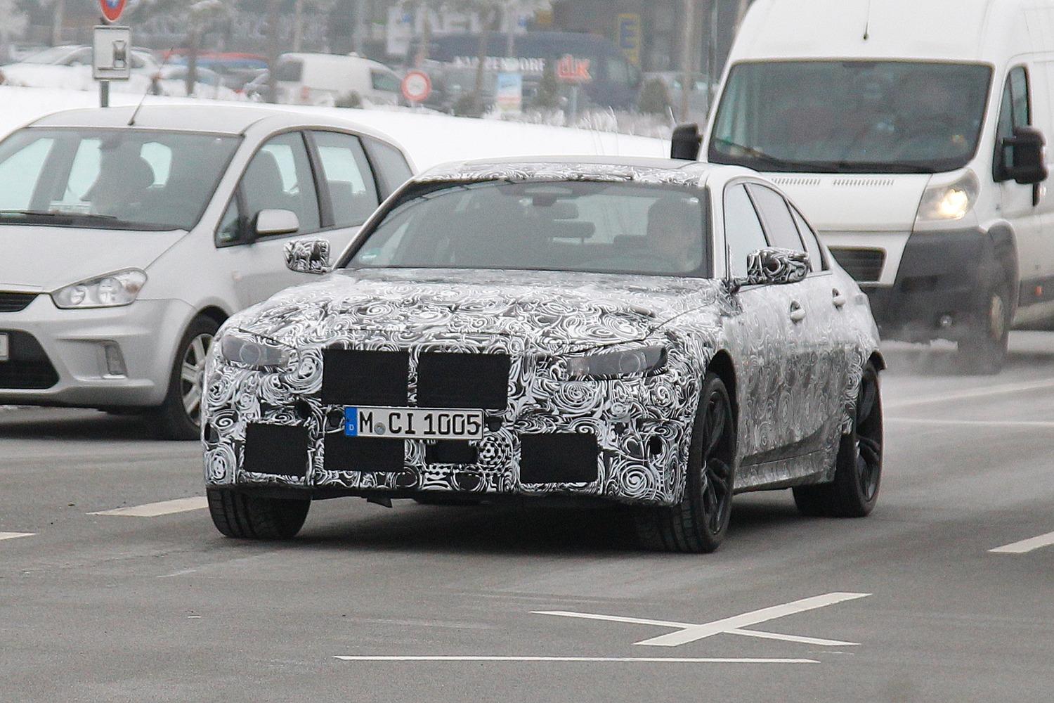 Nuova BMW M3, le foto spia
