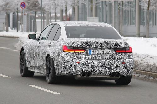 Nuova BMW M3, le foto spia (4)