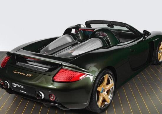 Porsche Carrera GT, ricostruita per un cliente americano