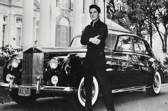 Il re del rock e una Rolls