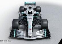 Formula 1 2019: Mercedes, svelata la W10 [Video]