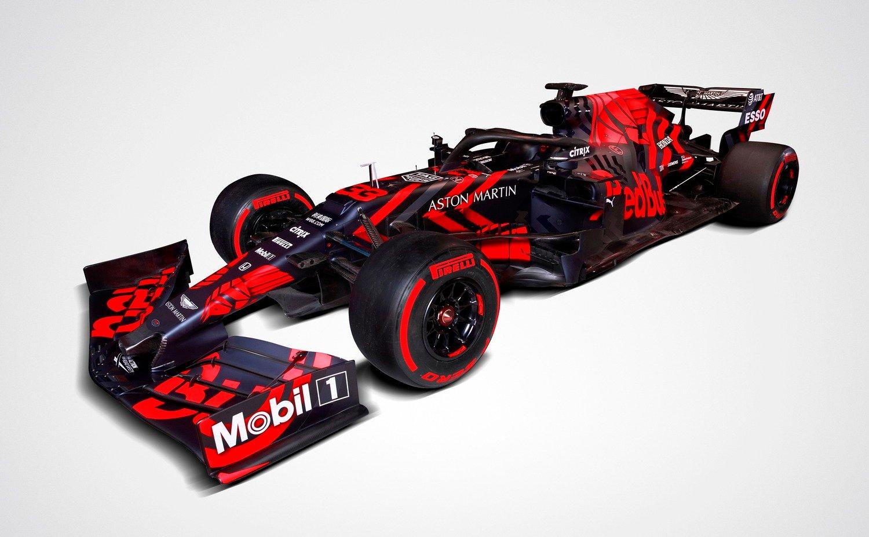 F1, Red Bull: svelata la RB15 di Verstappen e Gasly