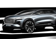 Audi Q4 e-tron: il concept SUV elettrico stupisce a Ginevra?