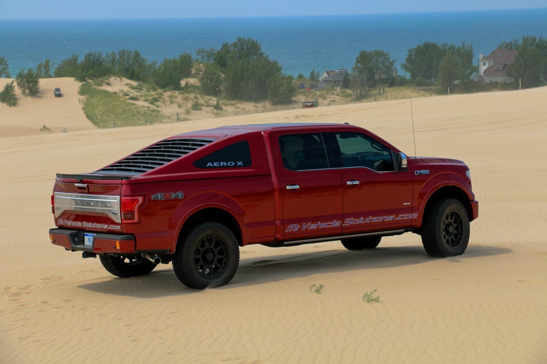 Aero X, l'hard top che trasforma il pick up in coupé