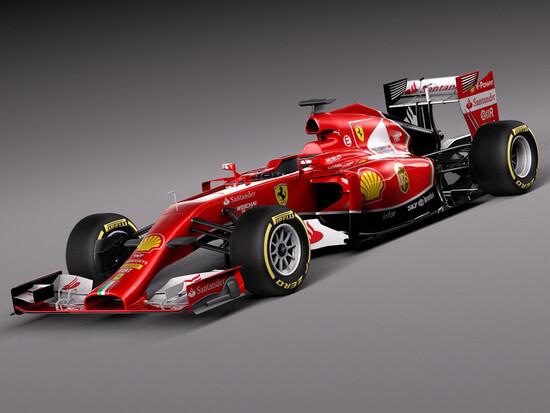 La discussa Ferrari F14T del 2014 con la sua ampia zona nera per nascondere meglio l'aerodinamica del posteriore