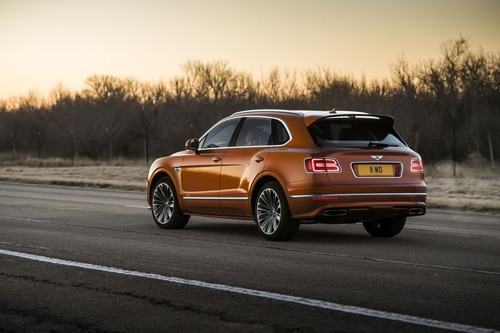 Bentley Bentayga Speed, il SUV più veloce del mondo (3)