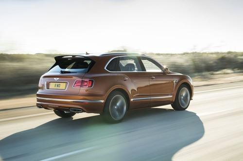 Bentley Bentayga Speed, il SUV più veloce del mondo (6)