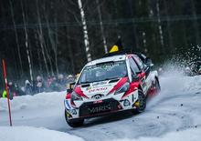 WRC 2019. Svezia. Suninen Out, Tanak (Toyota) Imprendibile