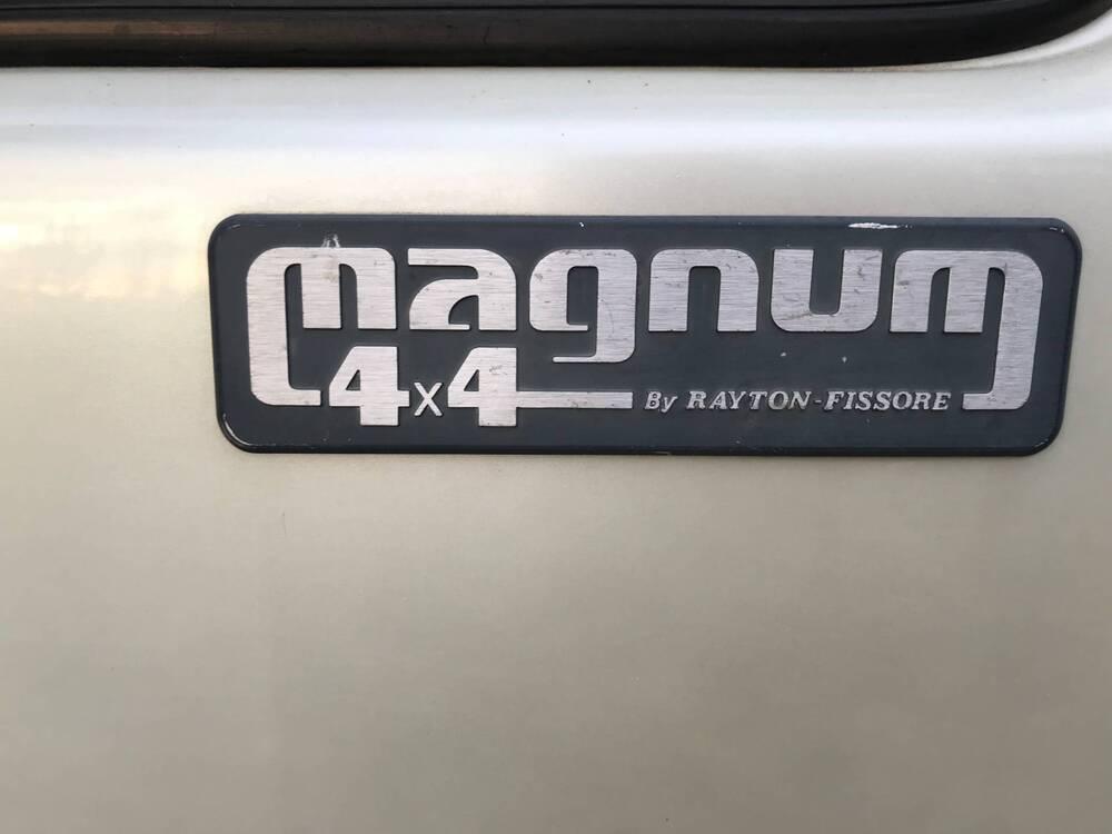 MAGNUM 4X4 TURBO DIESEL  d'epoca del 1986 a Baone (3)