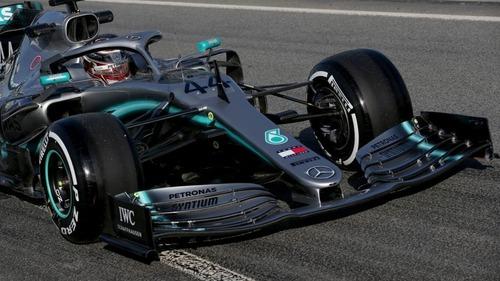 F1 2019 test Barcellona: la Ferrari di Vettel al comando nel Day1 (5)