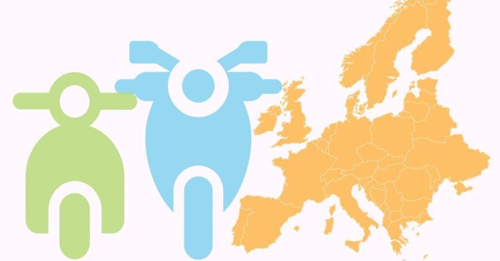 Più moto in tutta Europa: vendite a +10%