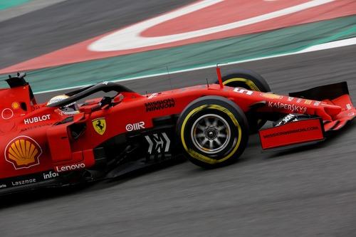 F1 2019, test Barcellona, Day 3: Kvyat al top (5)