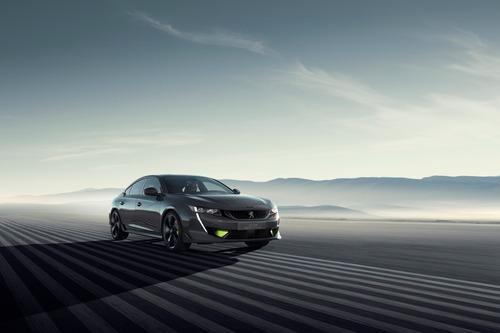 Auto ibride: Peugeot 508 Sport Engineered Concept al Salone di Ginevra