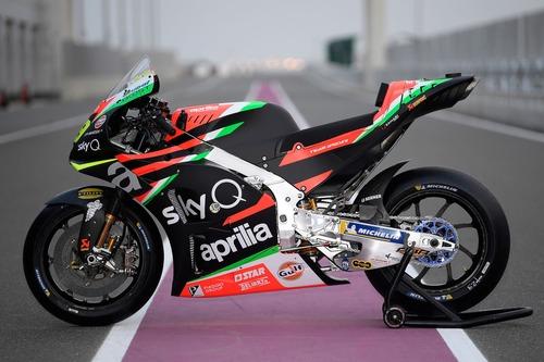 Aprilia MotoGP 2019 di Iannone e Espargarò: ecco la nuova livrea (5)