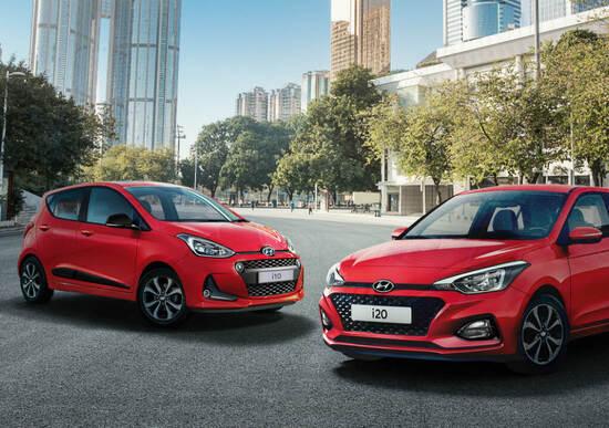 """Hyundai i10 e i20 ConnectLine, le """"small"""" sono più connesse"""