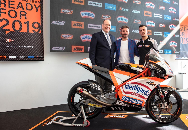 Biaggi e lo Sterilgarda Max Racing Team nel mondiale Moto3 con Canet