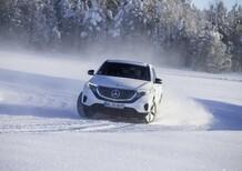 Mercedes EQC: test al freddo per il maxi SUV elettrico