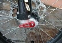 Leva sgancio rapido perno ruota anteriore TSS