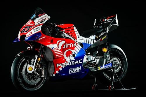 Ducati Pramac: la livrea 2019 di Bagnaia e Miller (2)