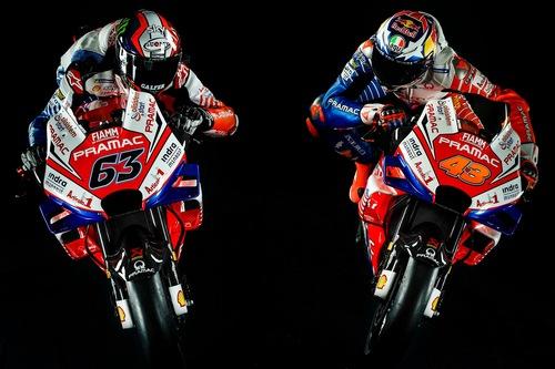 Ducati Pramac: la livrea 2019 di Bagnaia e Miller (5)
