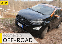 Ford Ecosport AWD, Come va in... Fuoristrada [Video]