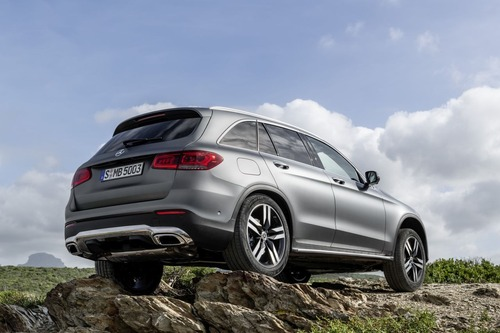 Mercedes GLC, il restyling al Salone di Ginevra 2019 (8)