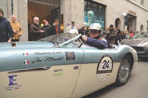 Coppa Milano Sanremo: 70 auto classiche e 5 Moto Guzzi di Moto.it pronte!