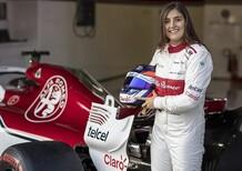 Alfa Romeo Racing, Tatiana Calderon confermata test driver per il 2019
