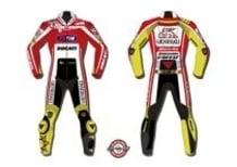 Dainese presenta le tute di Valentino Rossi e Nicky Hayden