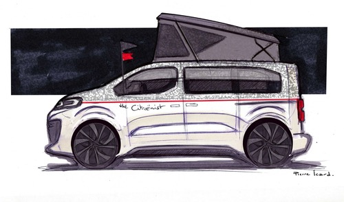 Citroën SpaceTourer The Citroënist Concept a Ginevra 2019 (6)