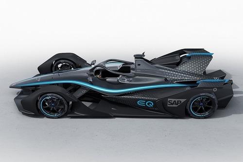 Formula E, Mercedes svela la livrea concept per il 2019/2020 (2)
