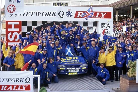 Nel 1995 Subaru conquista il titolo costruttori e Colin McRae il titolo piloti. Un'annata epica per il team