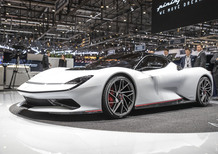 Pininfarina Battista: elettrica da 1.900 CV a Ginevra 2019 [Video]