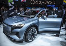 Audi Q4 e-tron concept al Salone di Ginevra 2019 [Video]