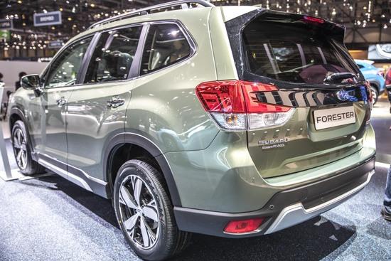 La Subaru Forester e-BOXER