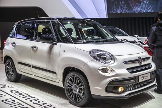 Fiat 500L al Salone di Ginevra 2019