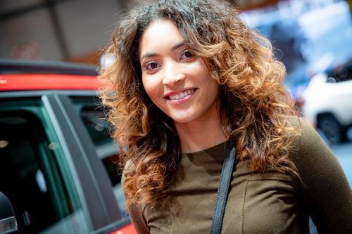 Salone dell'auto di Ginevra 2019, Foto: le immagini delle ragazze (5)